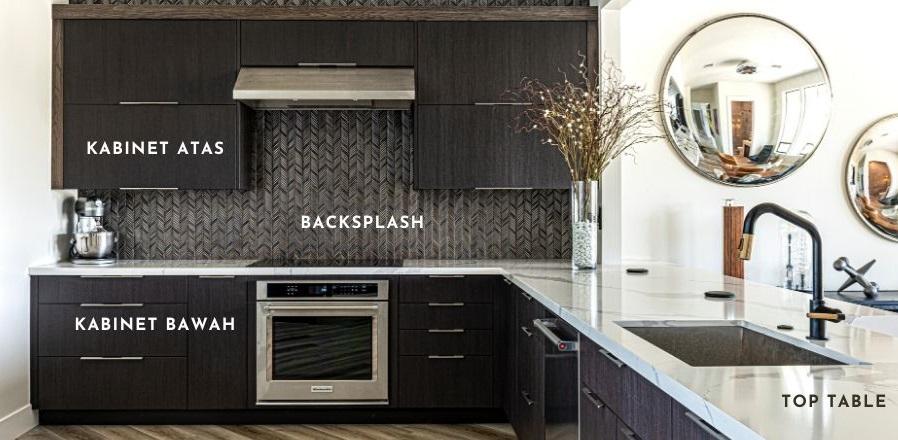 element kitchen set minimalis