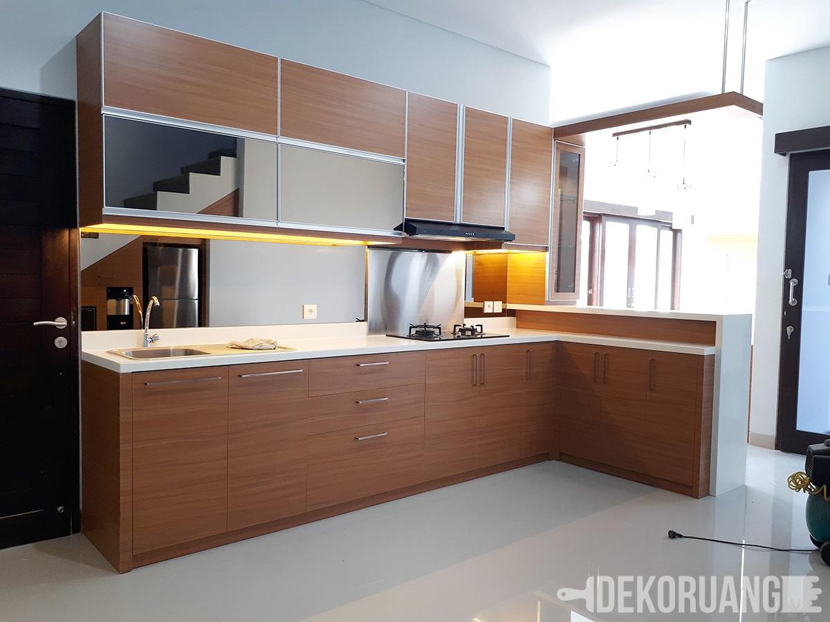 10 Desain Kitchen Set Minimalis Paling Co Untuk Rumah