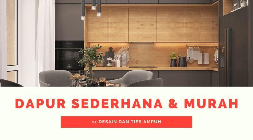 11 Cara membuat Desain Dapur Sederhana dan Murah - Free ...
